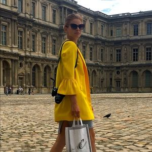 Yellow ZARA Paris Jacket